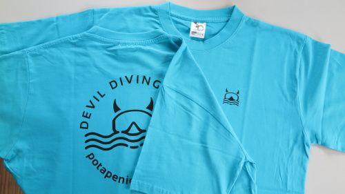 Tričko Devil Diving Club