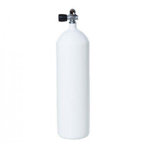 Láhev tlaková 12l/230 bar/204mm – s montoventilem a gumovou botkou