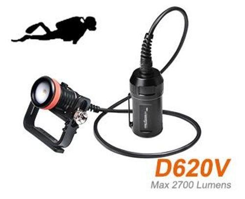 Kanystrová video svítilna D620V